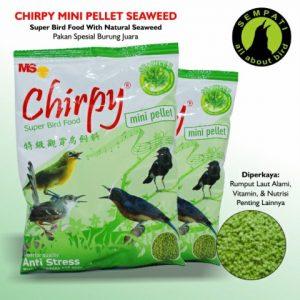 CHIRPY MINI PELLET SEAWEED 4