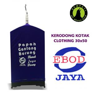 KRODONG CLOTHING 30X50 HOME LOGO