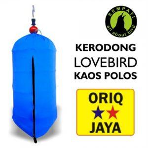 KRODONG LOVEBIRD POLOS ORIQ JAYA HOME LOGO