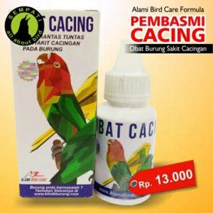 OBAT PEMBASMI CACING ALAMI BIRD CARE