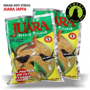 PAKAN ANTI STRESS JUARA JAPFA HOME
