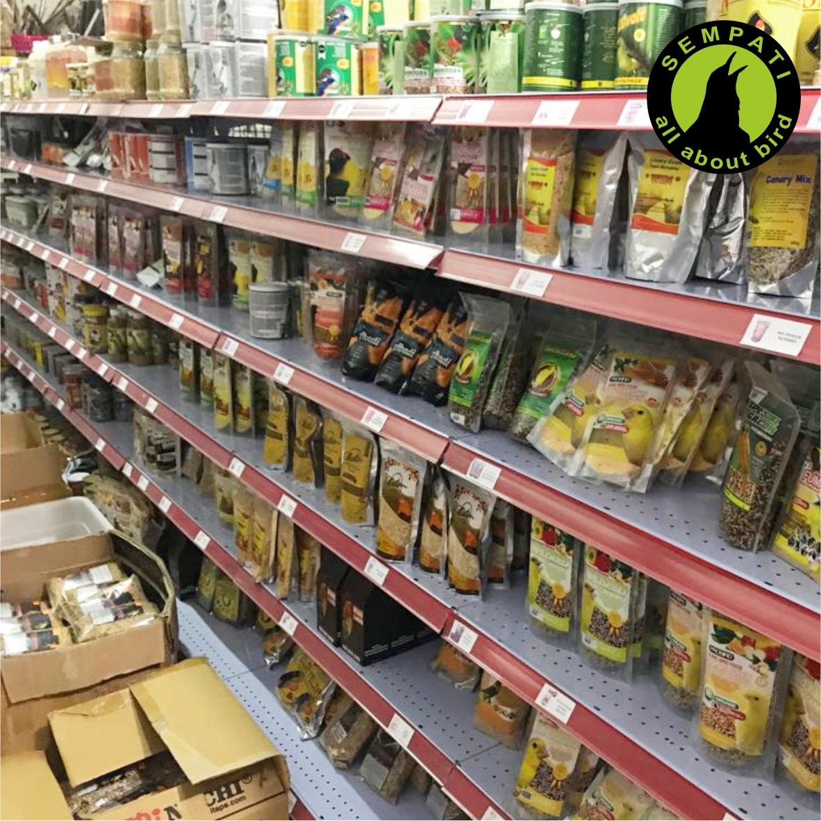 Super Power Insect Bird Food Pakan Voer Harian Lomba Untuk Burung Murai Kacer Anis Cucak Jalak Poksay Wambi Ciblek Dll Sempati Bird Shop