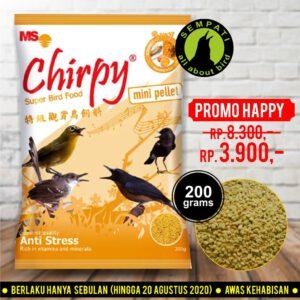 chirpy mini 200 gr