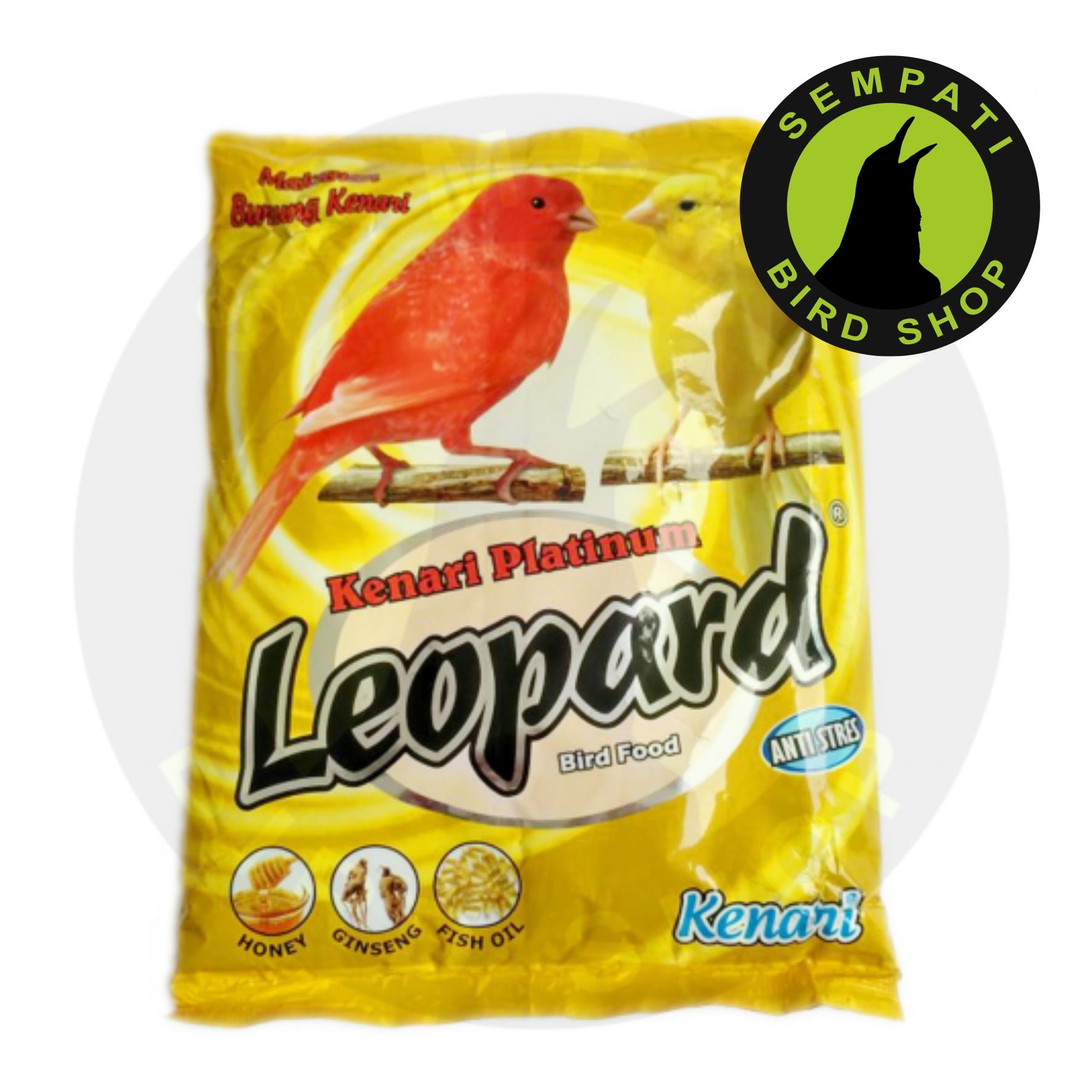 Leopard Kenari Premium Pakan Burung Kenari Sempati Bird Shop