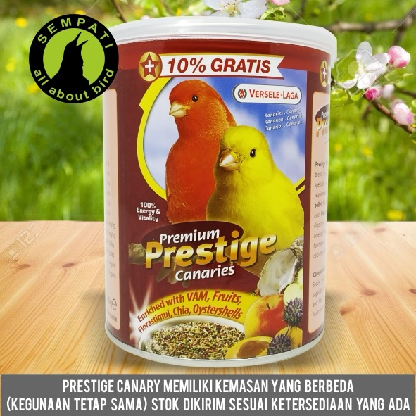 Prestige Canary Versele Laga Pakan Burung Kenari Sempati Bird Shop