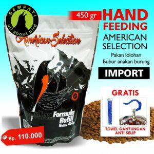 HAND FEEDING AMERICAN SELECTION
