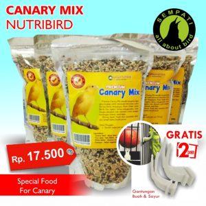 PAKAN KENARI MIX CANARY MIX NUTRIBIRD