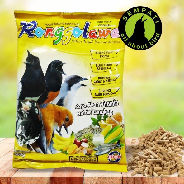 Voer Ronggolawe Ebod Jaya Pakan Burung Anis Murai Cucak Sempati Bird Shop