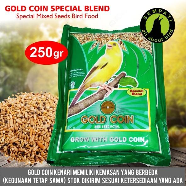 Gold Coin Kenari Special Blend Pakan Burung Kenari Sempati Bird Shop