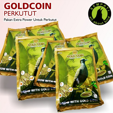 Gold Coin Perkutut Pakan Burung Perkutut Sempati Bird Shop