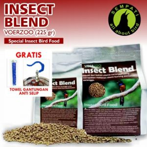 INSECT BLEND VOERZOO 225 GRAM