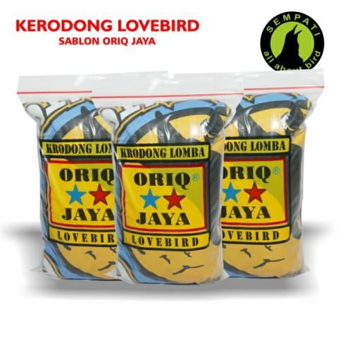 ... KERODONG KRODONG SANGKAR BURUNG KAOS LOMBA LOVEBIRD SABLON ORIQ JAYA. Sold Out
