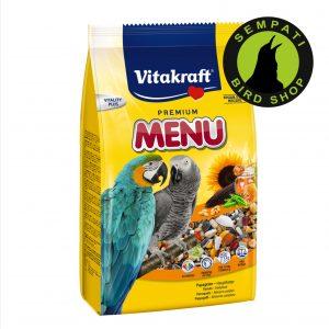 pakan premium parrot 1 kg