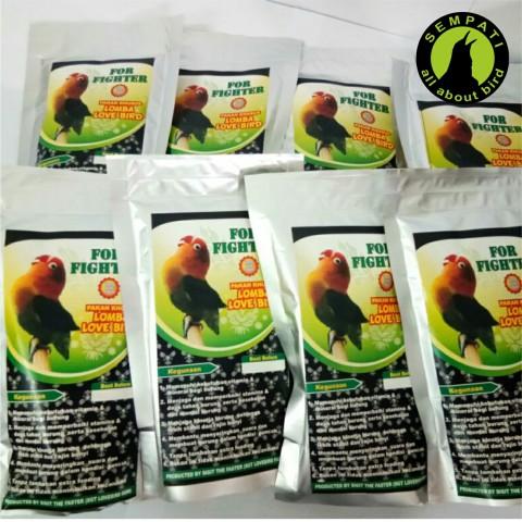 FOR FIGHTER LOVEBIRD PAKAN LOMBA BURUNG LOVEBIRD