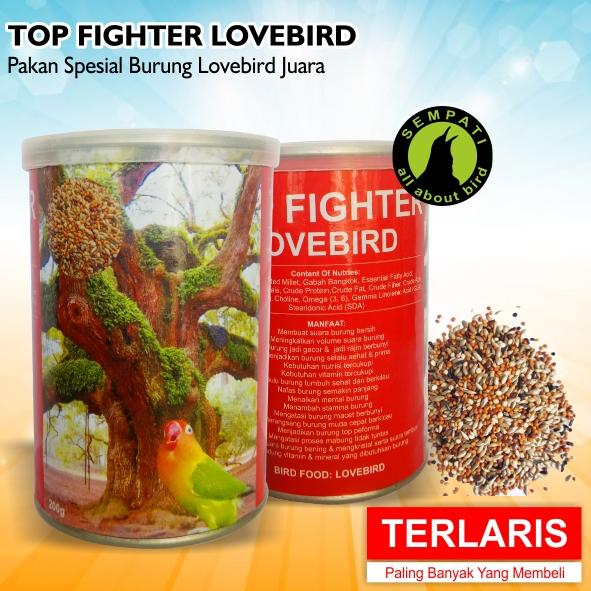 TOP FIGHTER LOVEBIRD SEMPATI PAKAN LOMBA BURUNG LOVEBIRD JUARA RAJIN NGEKEK KONSLET GACOR – Sempati Bird Shop