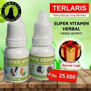 Super Vitamin Herbal Sempati Vitamin Burung Juara yg lain