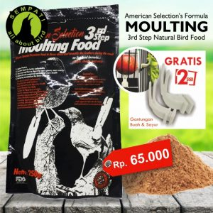 AMERICAN SELECTION MOULTING BIRD FOOD