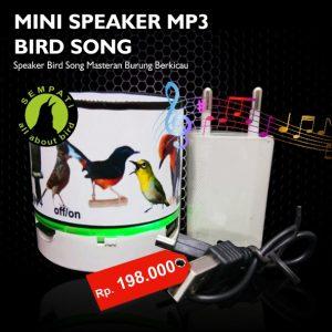 BIRD SONG MINI SPEAKER