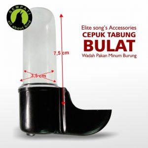 CEPUK TABUNG PENDEK BULAT