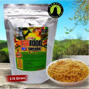 EGG FOOD DRY SUPERIOR UNIQUE 210 GRAM