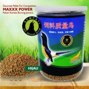 MAXXX POWER COMPETITION TOPLES HIJAU