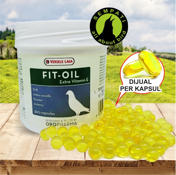 Fit Oil Versele Laga Fit Oil Minyak Ikan Vitamin Suplemen Burung Merpati Meningkatkan Kesuburan Fertilitas Produksi Ternak Daya Tetas Telur Fitvl Sempati Bird Shop