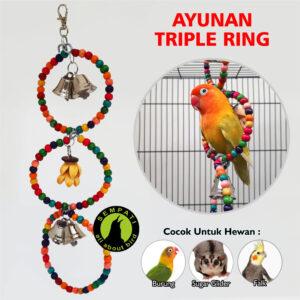 AYUNAN TRIPPLE RING